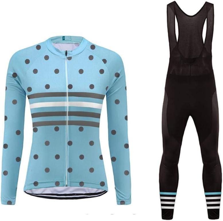 BurningBikewear Uglyfrog MTB Ropa para IR en Bici de Mujer Triatlon Invierno Mantener Caliente+3D Coj/ín Transpirable Ropa de Bicicleta C/ómoda Conjunto de Ciclista para Deporte al Aire MESQXFNC07