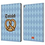 Official Emoji Twisted Oktoberfest Leather Book Wallet Case Cover For Apple iPad Pro 12.9 (2017)