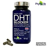 (US) Hair Loss DHT BLOCKER Made with Pure Saw Palmetto Oil, Prevents and Stops Hair Loss Strengthen Roots USA