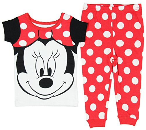 Disney Girls Minnie Sleeve Pajama