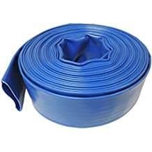 Maxx Flex 300 ft - 4 Bar Heavy Duty Reinforced PVC Lay Flat Discharge and Backwash Hose
