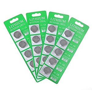 Moonflor CR2032 Lithium Button Cell Coin 3V Battery( Pack of 20 )