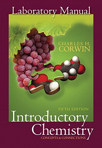 Prentice Hall Laboratory Manual to Introductory Chemistry: Concepts and Connections (5th Edition)