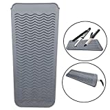 Best Hair Curling Iron Mats - CBOKE Heat Resistant Silicone Mat Pouch Cover Review