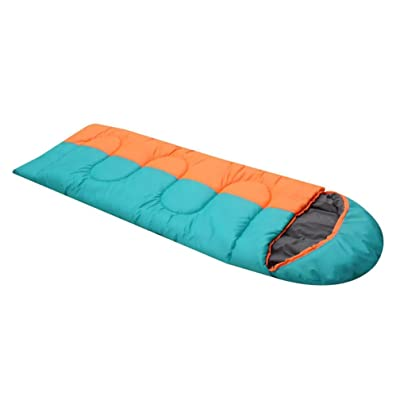 Enveloppe plus épais sac de couchage en coton adulte camping en plein air garder au chaud équipement 1400g