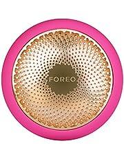 FOREO UFO 2 to optymalne 2-minutowe urządzenie do pielęgnacji skóry twarzy z ciepłem/chłodzeniem/terapią światłem LED/masażem sygnalizacyjnym/nawilżającym, odmładzającym, fuksja