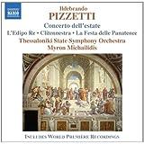 Pizzetti : Concerto dell'estate - L'Edipo re - Clitennestra - La Festa delle Panatenee