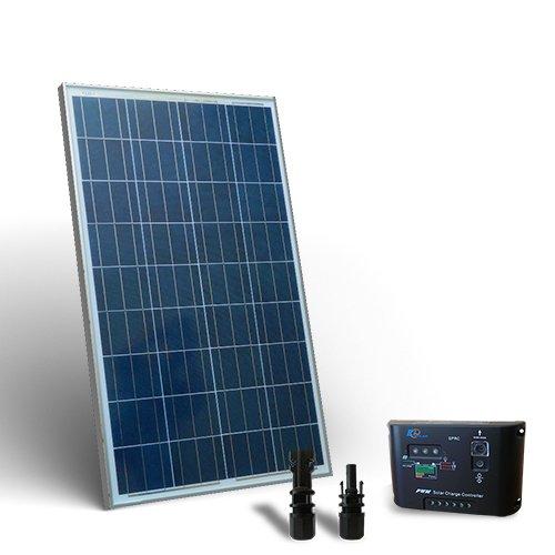 Solar Kit base 150W Photovoltaik Regler 10a-pwm Polykristallin Bewässerung Außen Zellen off-grid Haus Energiesparend Lampen Strom elettricita' Akkumulation Ladegerät Ladekabel