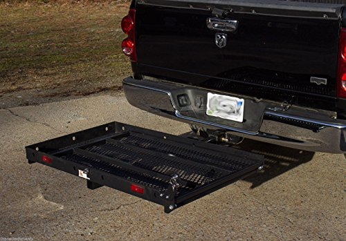 Hitch Mounted Wheelchair Scooter Mobility Carrier Medical Rack Ramp MC400 SC400 by Titan Ramps