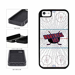 Montreal Ice 2-Piece Dual Layer Phone Case Back Cover Apple iPhone 5 5s