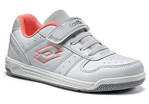 Lotto - Zapatillas de tenis para niño Weiß (WHITE/SILVER METAL)
