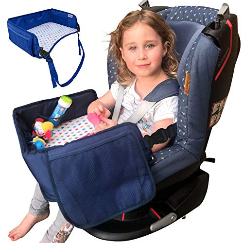 Kids Travel Tray By Ozziko Activity Lap Desk For Snack And Activities While In Car Seats Baby Strollers Booster Seat Airplane Road Trips