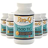 Omega-3 Fish Oil Mini Gel Capsules 6-Pack 200-ct Res-Q 2500 TG