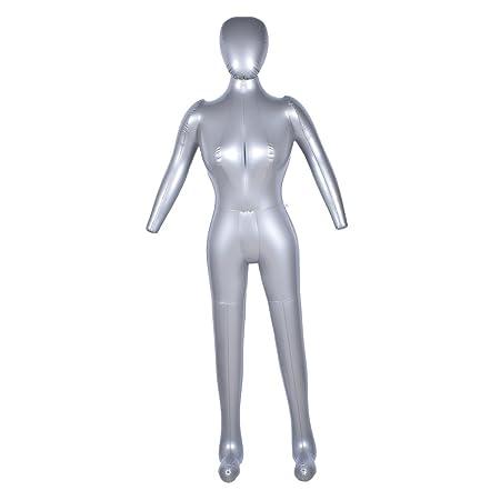 hongma maniquí femenino cuerpo entero hinchable 170 cm exposición ...