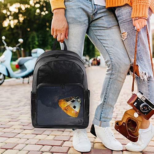 - Canvas Travel Handbag Water Resistant School Backpack Unisex Lightweight Laptop Bag Astronomy Cosmos Galaxy