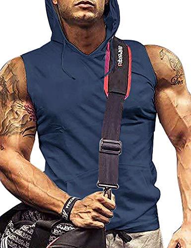 Men Sport Shirts Sleeveless Shirts Core Ten Tank Dry Fit Muscle Shirts RoyalBlue XL