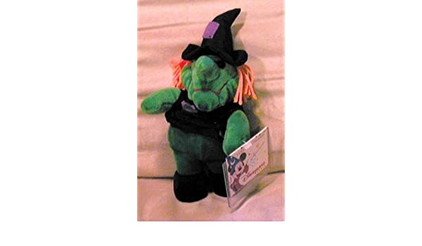 Amazon.com: Disneyland Paris Green Witch Bean Bag, La Magie Des Peluches by Disney: Toys & Games
