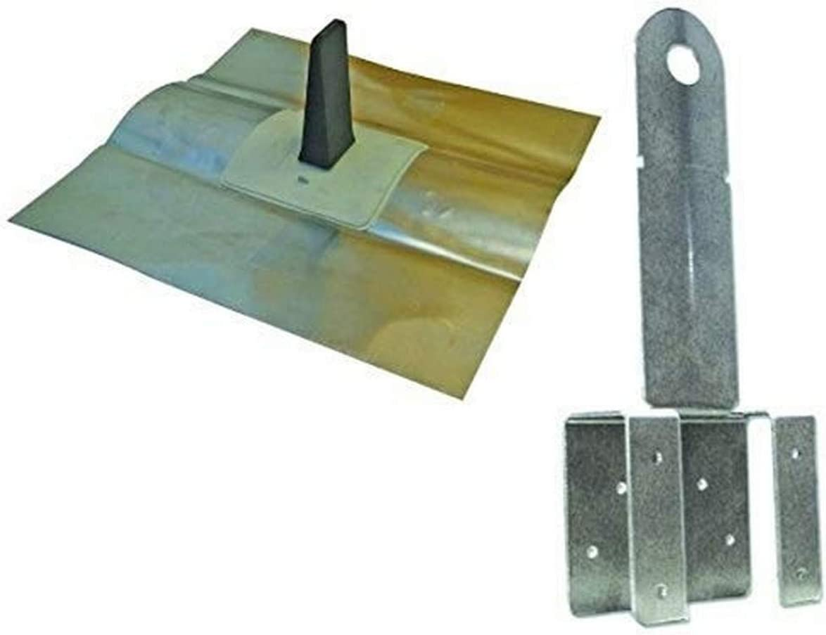 Guardian Fall Protection 00440 T-T Boss Gray Kit Includes Anchor Fasteners and Cap Flashing