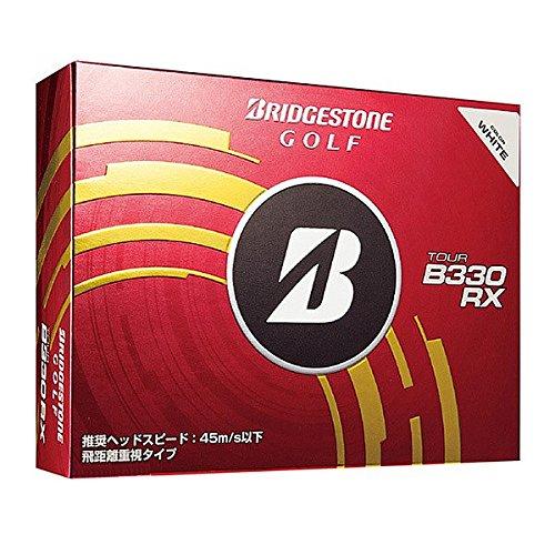 BRIDGESTONE(ブリヂストン) ゴルフボール TOUR B330RX B00NAT5878 ホワイト
