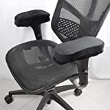 Office Chair Armrest Pads, Soeland Ergonomic Memory Foam Comfy Gaming Chair Arm Rest Covers for Elbows and Forearms Pressure Relief