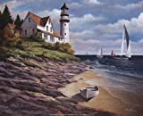 Lighthouse I by T.C. Chiu Art Print, 10 x 8 inches for sale  Delivered anywhere in USA