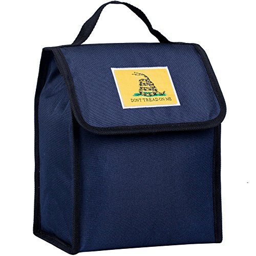 - Don't Tread On Me Lunch Bag - Deep Blue