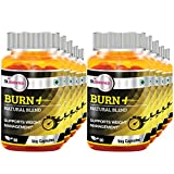 St.Botanica Burn+ Weight Management - 90 Veg Caps- Pack Of 10