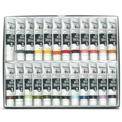 Turner Acryl Gouache Japanesque Colour 20ml × 24 Colours B set