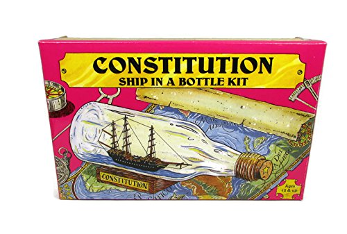 p Build Your Own Boat In A Bottle Model Kit - Made In US (Ship Model Boat)
