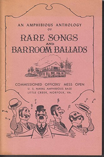 US Naval Amphibious Base Norfolk VA Rare Songs & Barroom Ballads 1950s