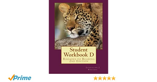 Amazon.com: Student Workbook D: Rhoades to Reading 2nd Edition ...