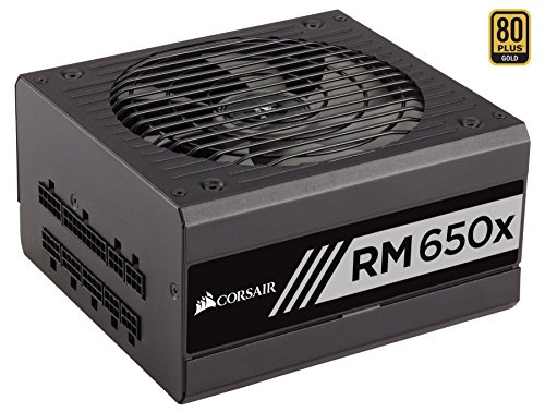 Corsair RMx (2018) 650 W 80+ Gold Certified Fully Modular ATX Power Supply