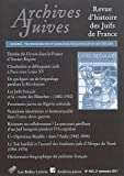 Archives Juives N44/2 : Transgressions et Marginalites Juives (XVIIIe-XXe Siecles), Les Belles Lettres, 2251694331