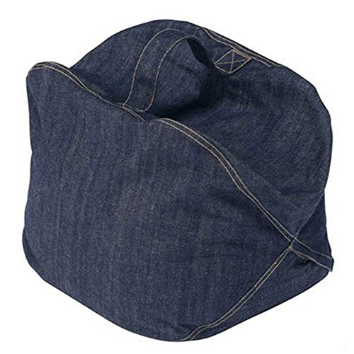 JayCreer Baby Kids Children Floor Seats Sofa Baby Kids Children Lounger (Jeans Color)
