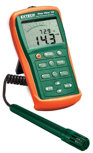 Extech EA25 Easy View Hygro-Thermometer and Datalogger