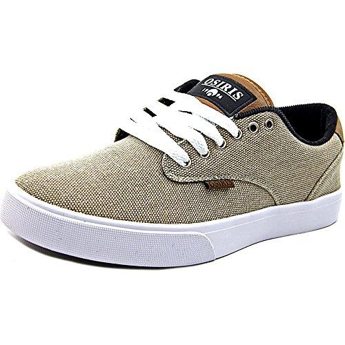 Hemp Skate Shoes (Osiris Men's Slappy Skateboarding Shoe, Tan/White/Brown, 11.5 M US)