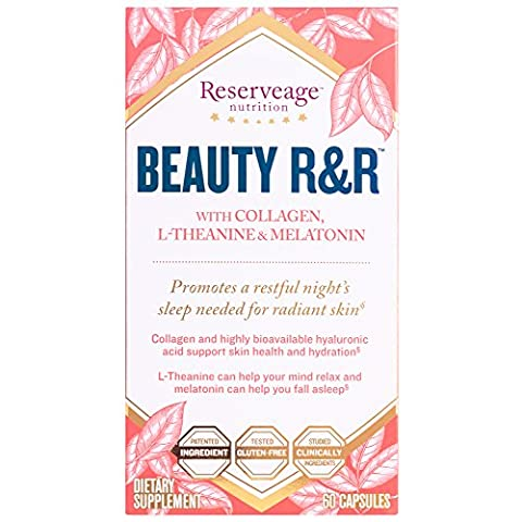 Reserveage Nutrition - Beauty R&R with Collagen, Melatonin & L-Theanine, 60 Capsules - Reserve Proprietary Red Wine
