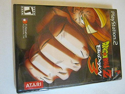 DRAGON BALL Z BUDOKAI 3 PLAYSTATION 2 BLACK LABEL (Dragon Ball Z Budokai 2 Playstation 2)