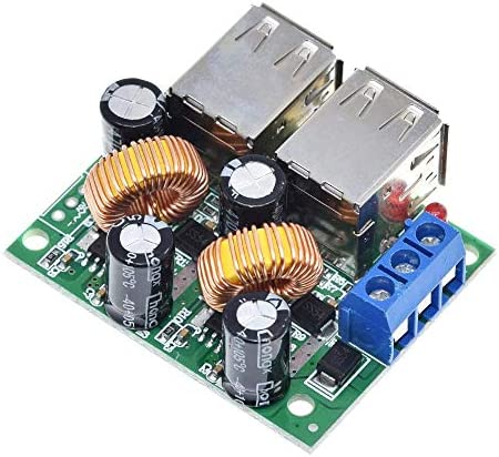 ZhaoXin Chen MP3 / MP4電話カー機器の5V 5Aに4 USBポートA5268ステップダウン電源コンバータボードモジュールDC 12V、24V、40V