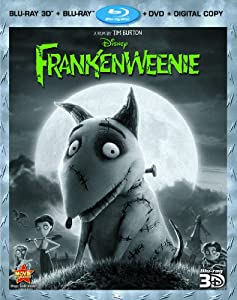 Cover Image for 'Frankenweenie (Four-Disc Combo: Blu-ray 3D/Blu-ray/DVD + Digital Copy)'
