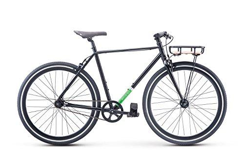 Raleigh Bikes Carlton City Bike, Black, 54cm/Medium