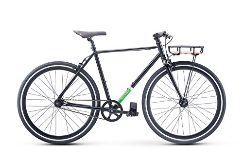 Raleigh Bikes Carlton City Bike, Black, 52cm/Small Review