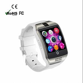 Reloj Inteligente Pódometro,Pulsera Inteligente,Monitor de Actividad y Bluetooth,Facebook WhatsApp Sync