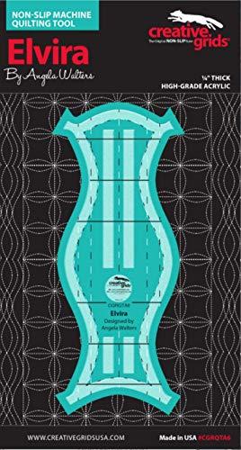 Elvira Chevy Taj Creative Grids Machine Quilting Tool 3 Pack Designed by Angela Walters
