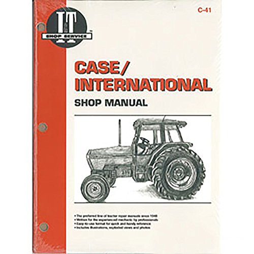 (C41 New Case International Harvester Tractor Shop Manual 5120 5130 5140)