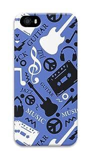 Music World Custom iPhone 5s/5 Case Cover ¨C Polycarbonate