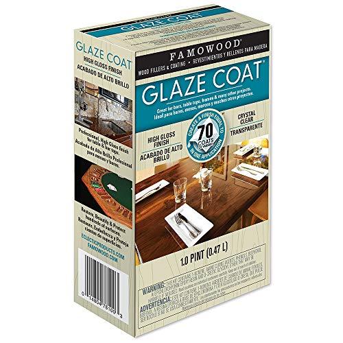 Famowood 5050060 Glaze Coat Epoxy Adhesive Kit - Pint Clear