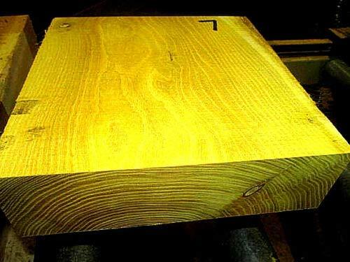 (Osage Orange Lathe Turning Exotic Wood Bowl Blank Block, 10