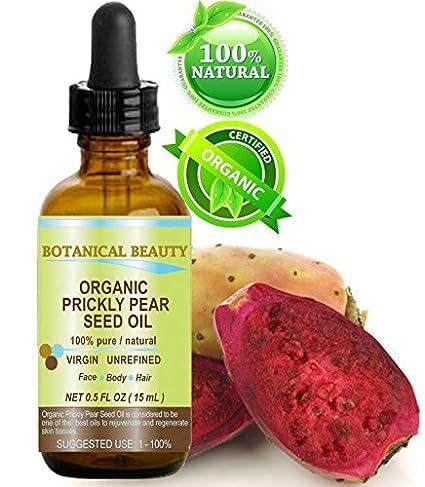 Prickly Pear Cactus Semillas Aceite Orgánico. 100% puro/Natural/Sin Diluir/