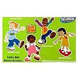 Nick Jr Little Bill Décor Accents Pack (16 Sticker Pack)